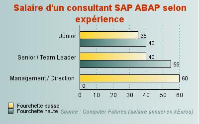 un consultant sap abap junior gagne au moins 35 000 euros par an